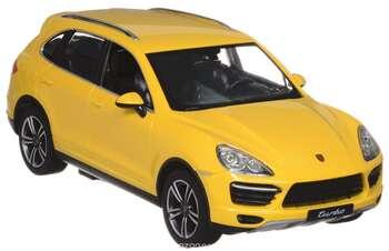 Rastar Радиоуправляемая модель Porsche Cayenne Turbo цвет желтый масштаб 1:14