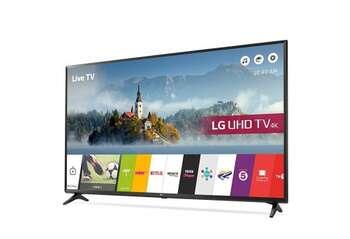 "LG 49UJ630V 49""(124.4) Smart 4K Ultra HD TV"