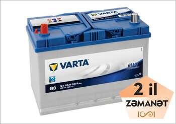 VARTA G8 95 AH L+ Blue Dynamic (Sol)