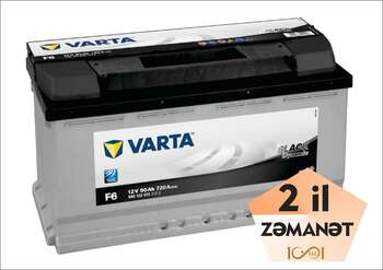 VARTA F6 Black Dynamic 90 Ah R+