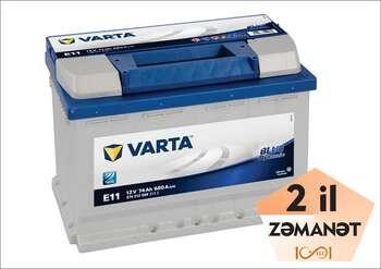 VARTA E11 74 Ah R+ Blue Dynamic