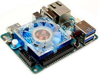 ODROID-XU4 Bir Lövhəli Kompüter, Quad Core 2GHz A15, 2 GB RAM, USB 3.0, Gigabit