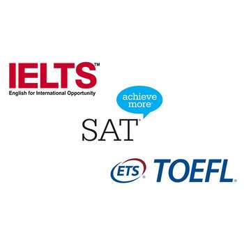 IELTS, TOEFL, SAT