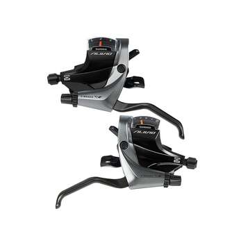 Velosiped əyləc sistemi - Shimano Alivio M4000 9 Speed Trigger Shifter Set