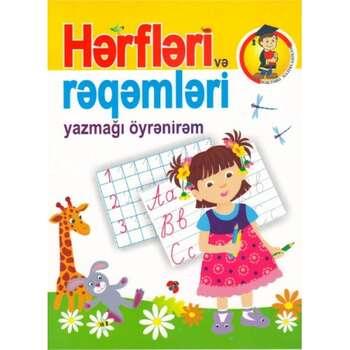 Hərfləri və rəqəmləri yazmağı öyrənirəm