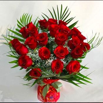 Qırmızı Qızılgüllər (25 ədəd)