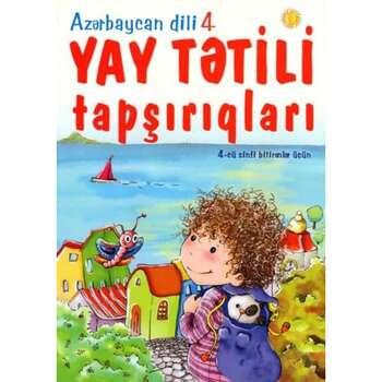 Azərbaycan dili yay tətili tapşırıqları 4