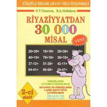 Riyaziyyatdan 30 000 misal (2-ci sinif)