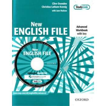 Oxford NEW ENGLISH FILE Advanced Workbook Key Multi-ROM