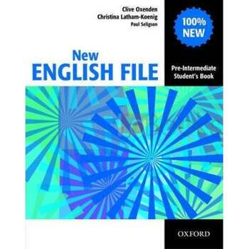 New English File: Pre-intermediate Student's Book: Student's By Seligson, Paul