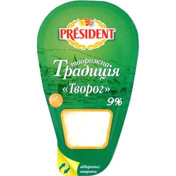 President 250gr Kesmik 9% Tv.Tradiciya Pl/Q