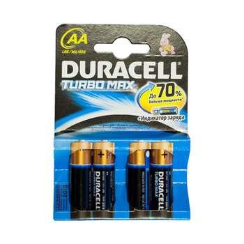 Duracell Turbo 4lu 2a Bateriya