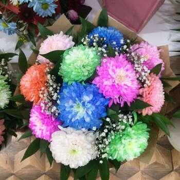 Xrizantema buketi