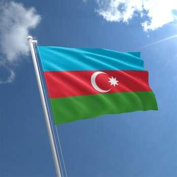 Azərbaycan bayrağının hazırlanması
