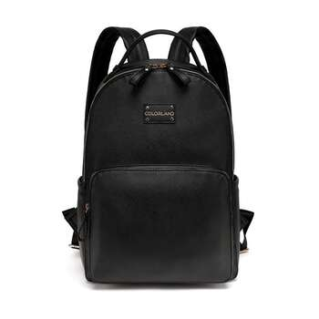 Colorland Black Backpack Changing Bag with Detaching Mat