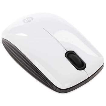 HP White Wireless Mouse E5J19AA