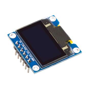 6 Pinli 0.96 Inch SPI I2C OLED Digital SSD1306 Ekran