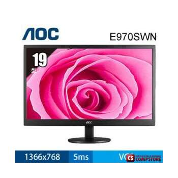 "Monitor AOC 19"" HD (E970SWN)"