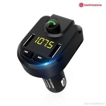 FM Transmitter Wireless Car Charger Radio MP3 Music Player Bluetooth Audio