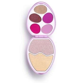Makeup revulatin brendinə məxsus ten+haylayter paleti