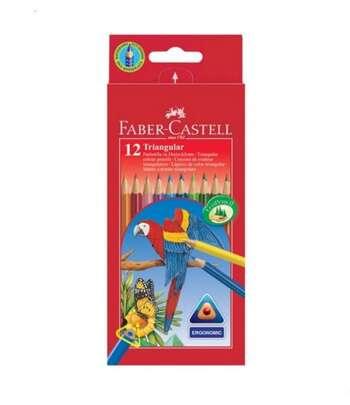 Karandaş 12 Rəngli Faber Castell 116512