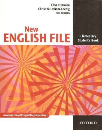 Oxford NEW ENGLISH FILE Elementary Student's book