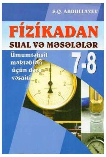 Fizikadan sual və məsələlər (7-8)