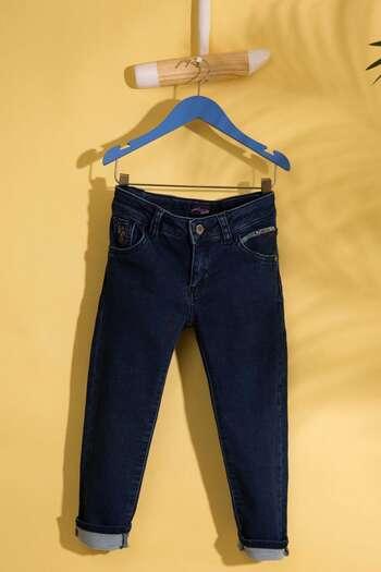 LACIVERT Slim Denim Pantolon