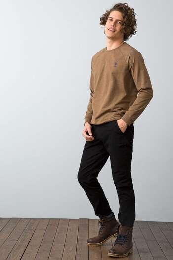 SIYAH Slim Chino Pantolon