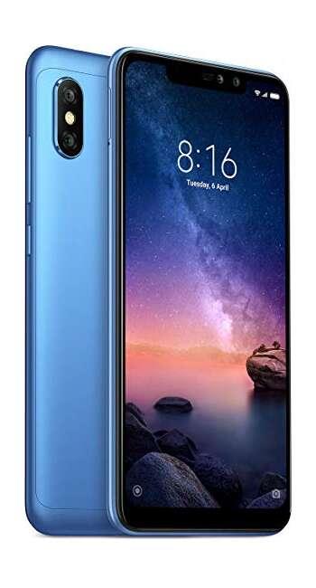 Note 6 pro 4/64 Blue